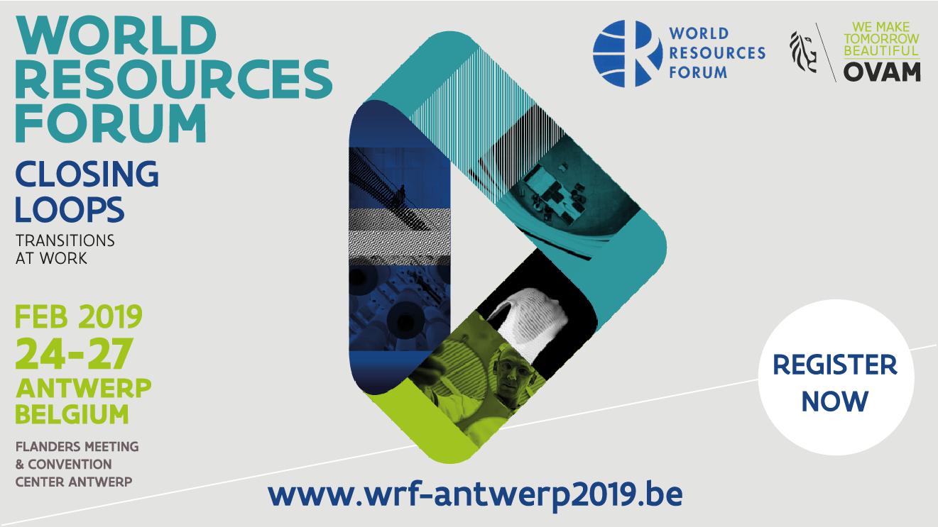 World Resources Forum 2019 | Business in Antwerp