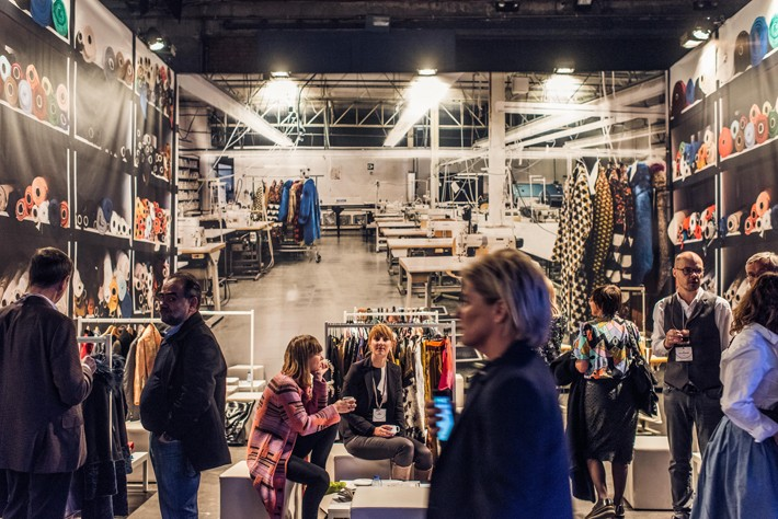 aa590584e505 'It's logical that an event like Fashion Talks takes place in Antwerp,'  says visitor Julie Clautier from the Antwerp office of the UPR Press Agency.